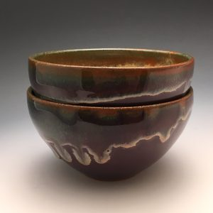 Purple Sunset Side Bowls