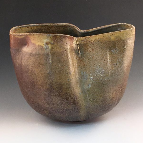 Sculptural Landscape Vase