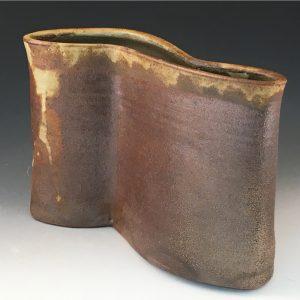 Running Landscape Vase