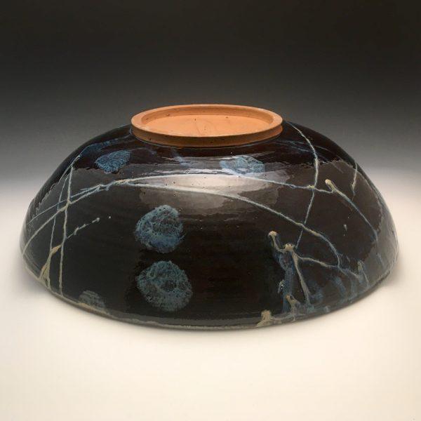Midnight Bloom Large Bowl