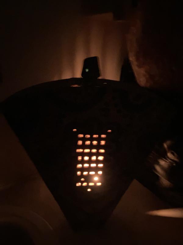 Tatoo Sculptural Lantern