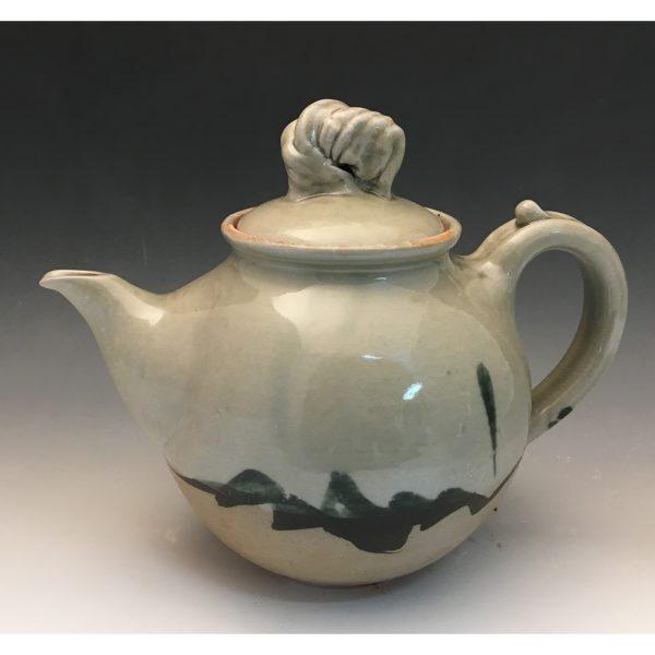 Celedon Teapot
