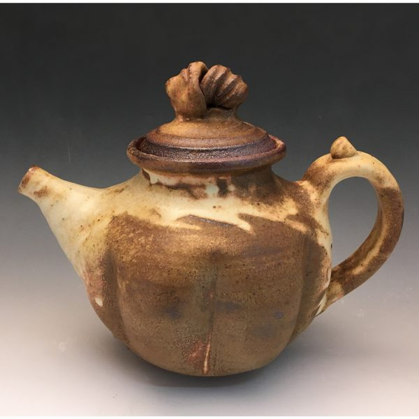 Yellow Salt Teapot