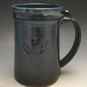 Floating Blue Manhandle Mug