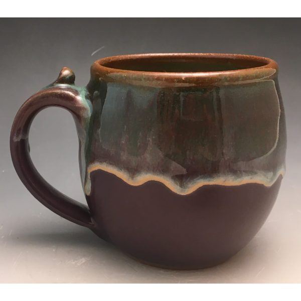 Purple Sunset Short Barrel Mug