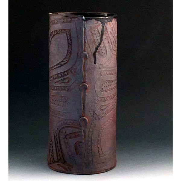 Batik Boot Vase