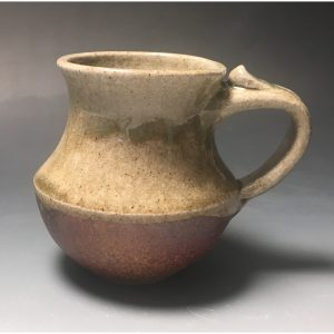 Celedon Wood Fired Mug