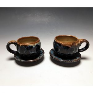 Taos Bloom Espresso Pair