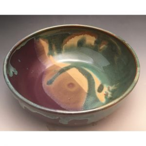 Purple Sunset Small Serving Bowl