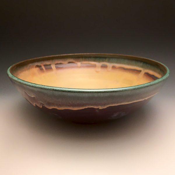 Purple Sunset Medium Serving Bowl
