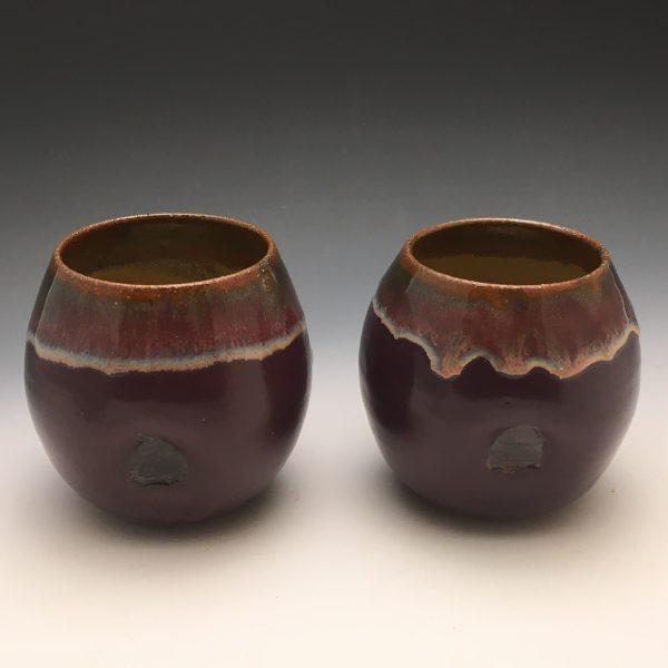 Purple Rain Wine Cups