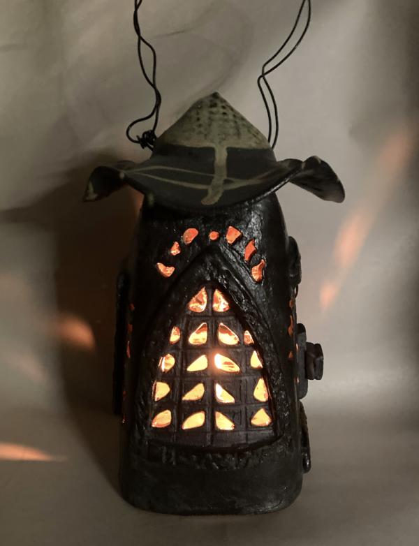 Hanging Ranch Lantern